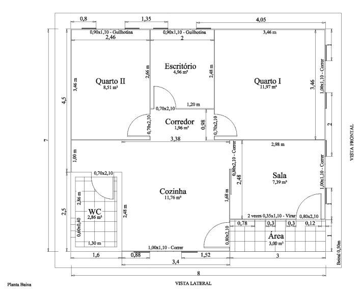 95 ideias de casas modernas fachadas projetos e fotos for Plantas de casas tipo 3 modernas
