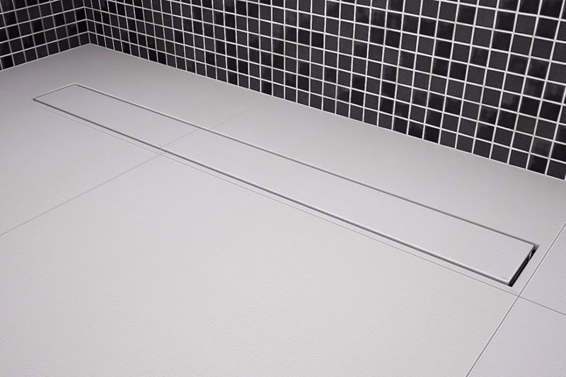 Ralo Linear no Porcelanato