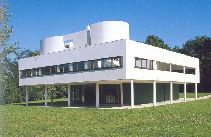 Ville Savoye, projeto de casa moderna de Le Corbusier