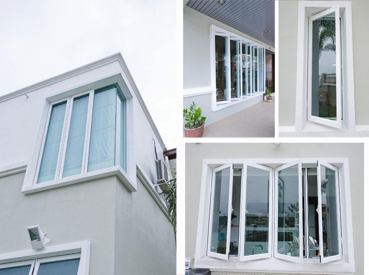 Diferentes tipos de janelas no mercado