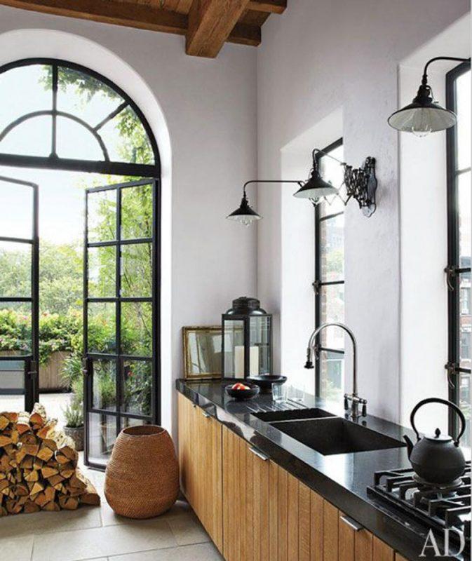 Arandelas para cozinha - luminárias de parede para iluminar o balcão da cozinha