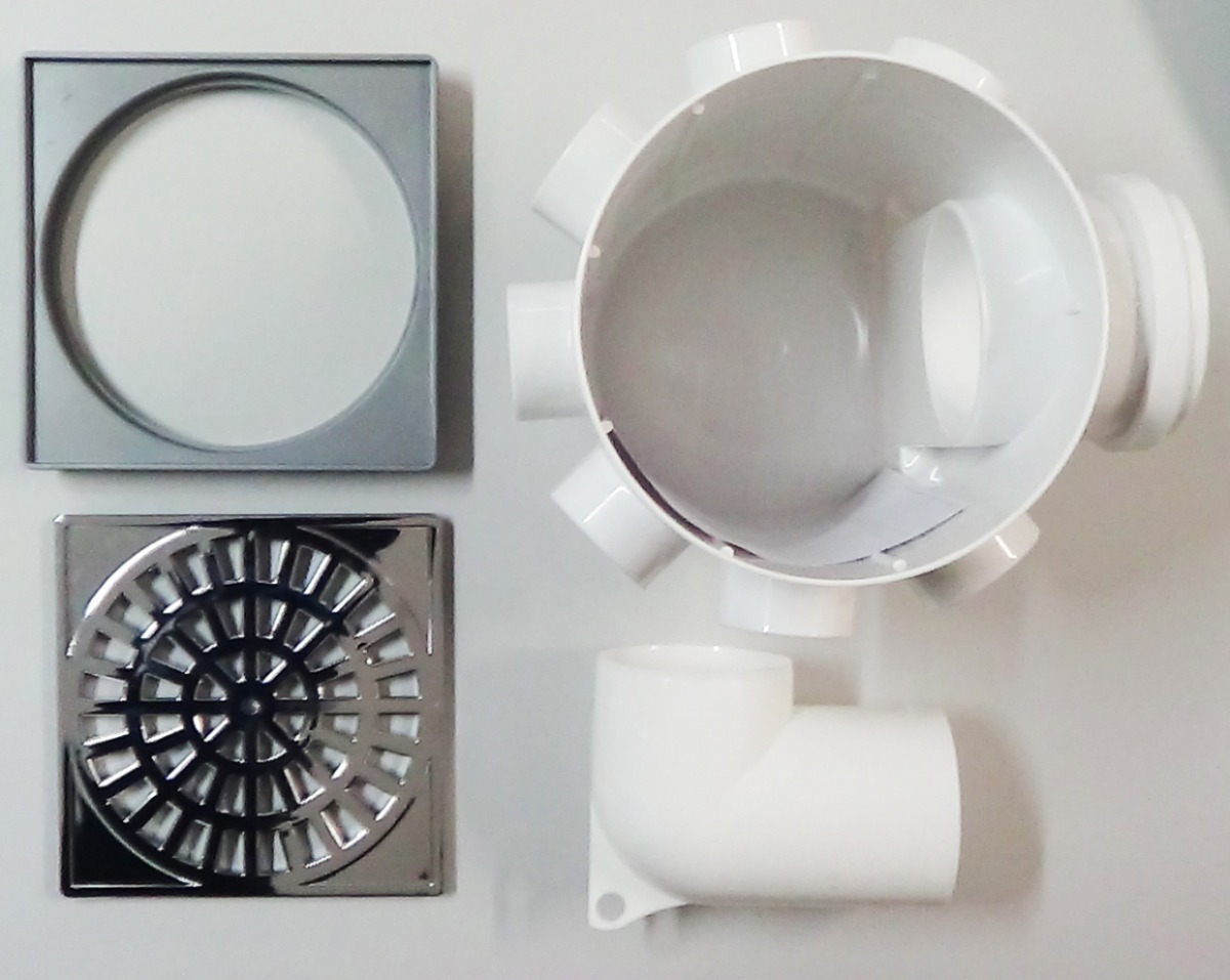 ralos – impede a entrada do mal cheiro do esgoto no ralo de sua casa #70665B 1200x957 Banheiro Com Cheiro De Esgoto O Que Fazer