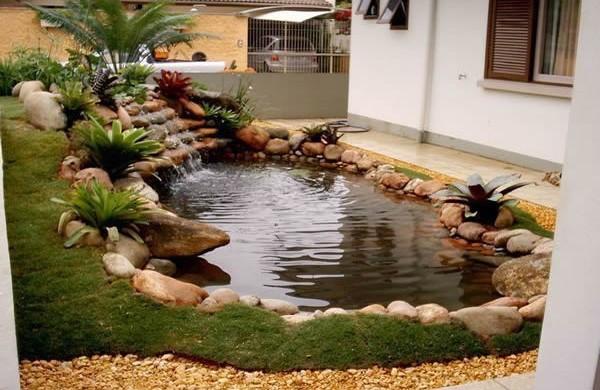 Lagos ornamentais como criar lagos artificiais for Lagos de jardin
