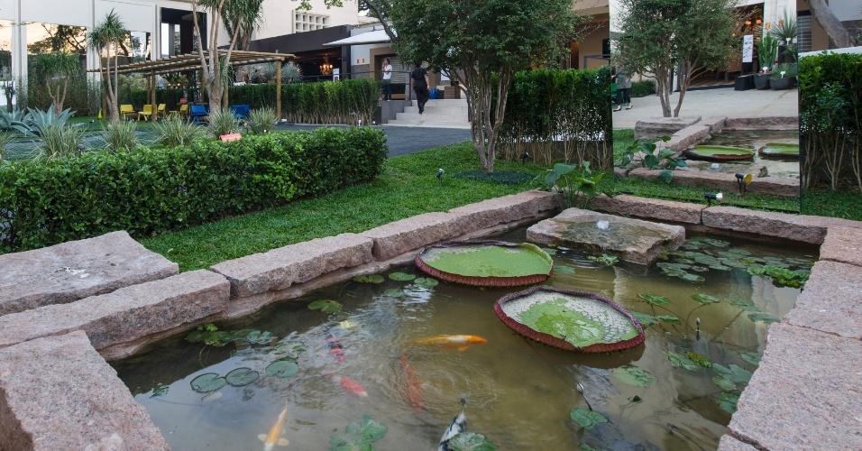Lago artificial com caráter mais tradicional