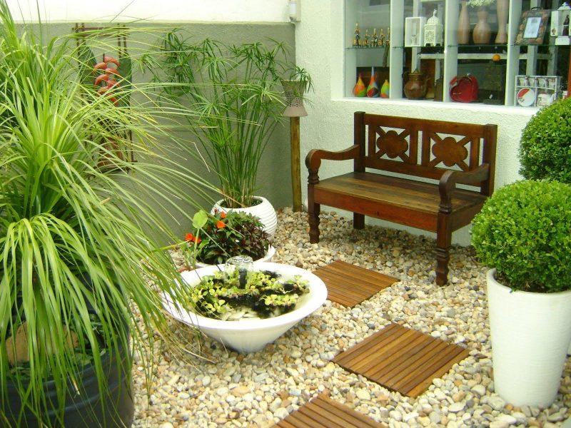 Pedras para jardim - seixo para jardim estilo moderno