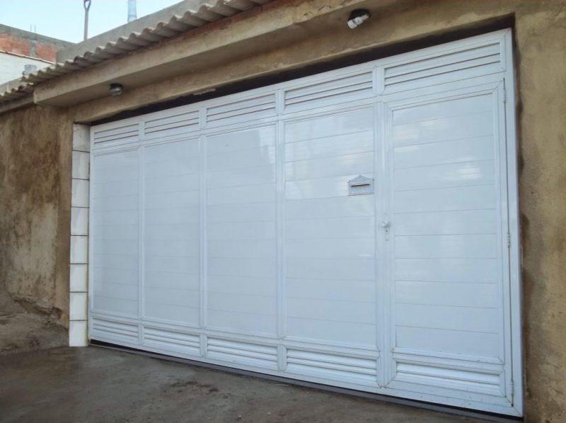 Extremamente Portoes De Garagem Em Aluminio Oi62 Ivango