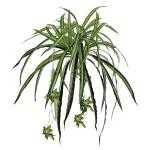 folhagem rabo de galo artificial para pendurar na sala ou varanda