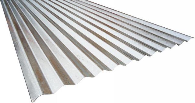 telha de zinco tradicional para coberturas de telhados