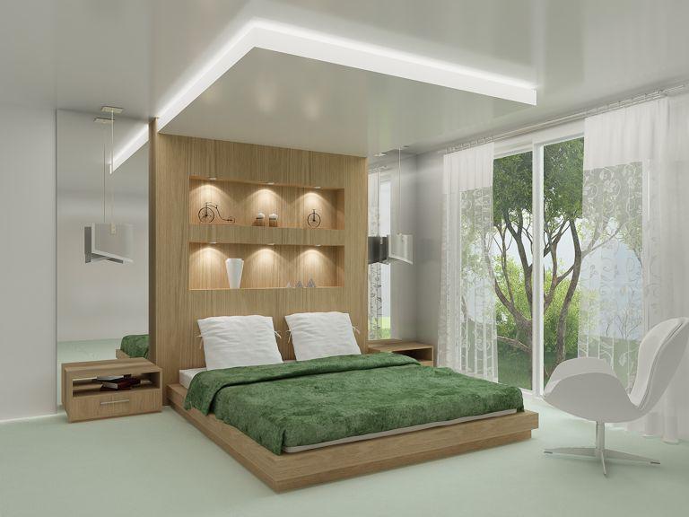 O casal se sentirá muito confortável com esse quarto planejado com uma cobertura especial sobre a cama, uma releitura das clássicas camas de princesas