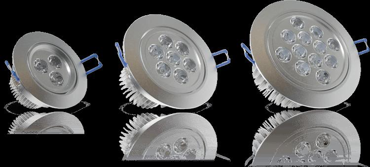 Modelos de Spots de LED
