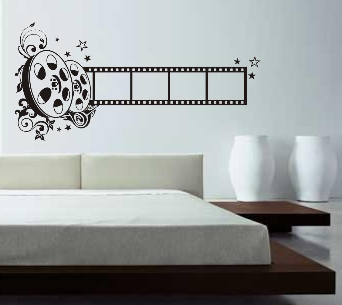 adesivos para parede cinema