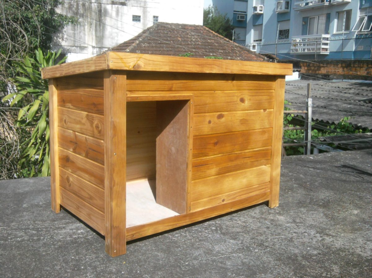 Casinha de Cachorro – de plástico madeira e muito mais #A77C24 1200x899