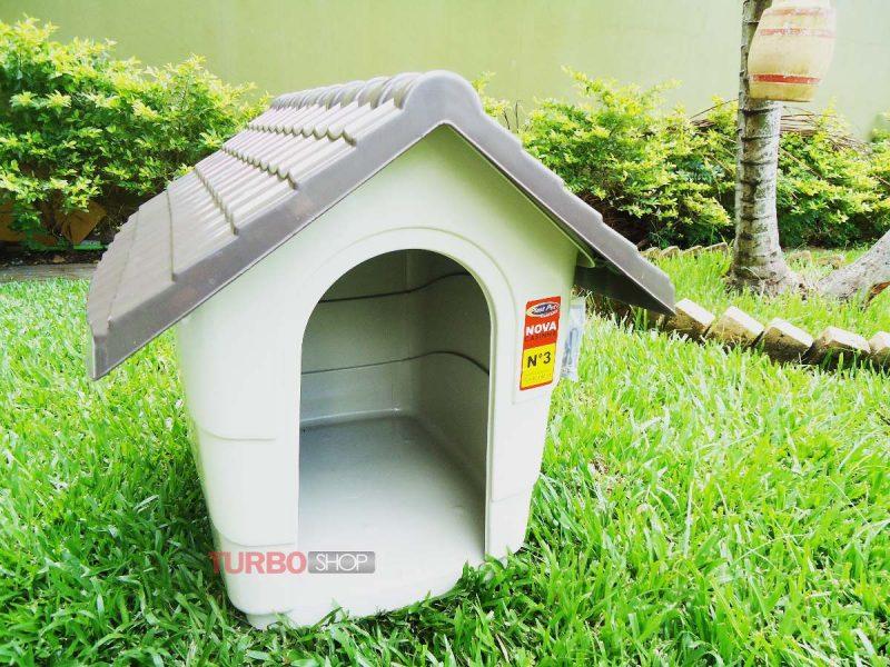 casinha de cachorro de plástico