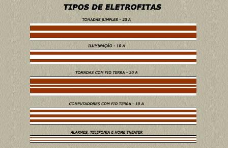 Tipos de eletrofitas