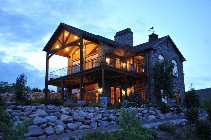 60 modelos de casas r sticas plantas fachadas decora o for Modelos de casas rusticas de campo
