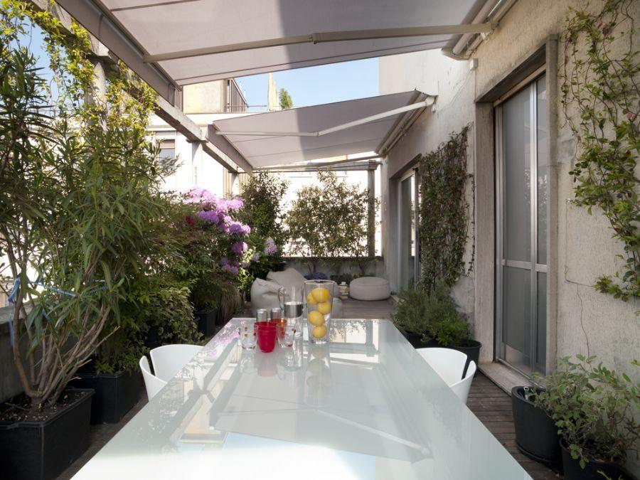 Também é possível mesclar o ambiente da varanda verde com o do Espaço Gourmet