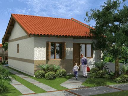 modelo de casa de financiamento simplificado