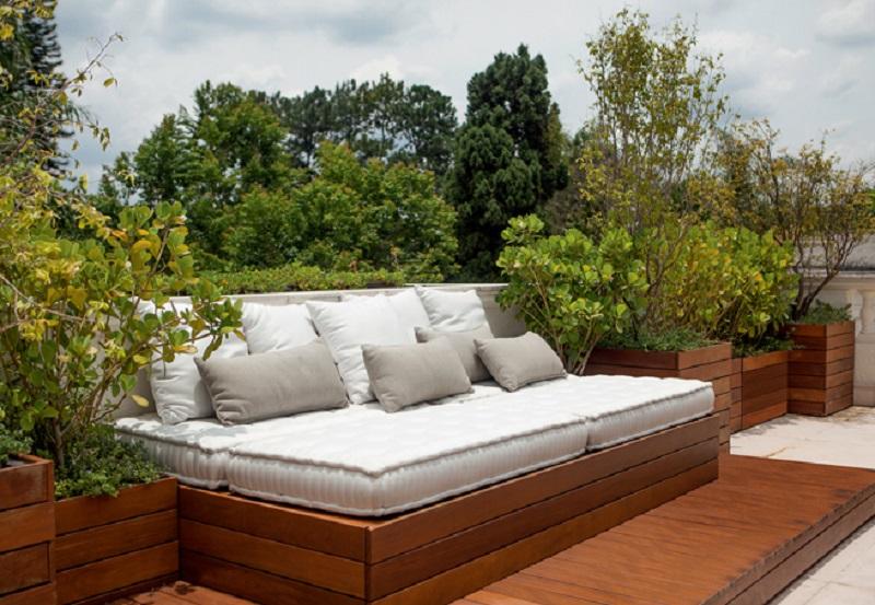 móvel para varanda panorâmica ou área externa