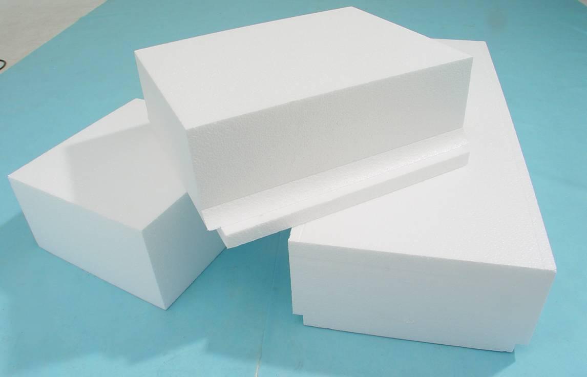 Módulos de Isopor usados em lajes como enchimento