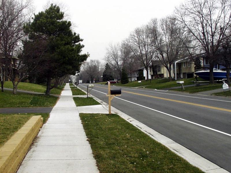 Foto de calçadas residenciais e comerciais dos mais diversos tipos