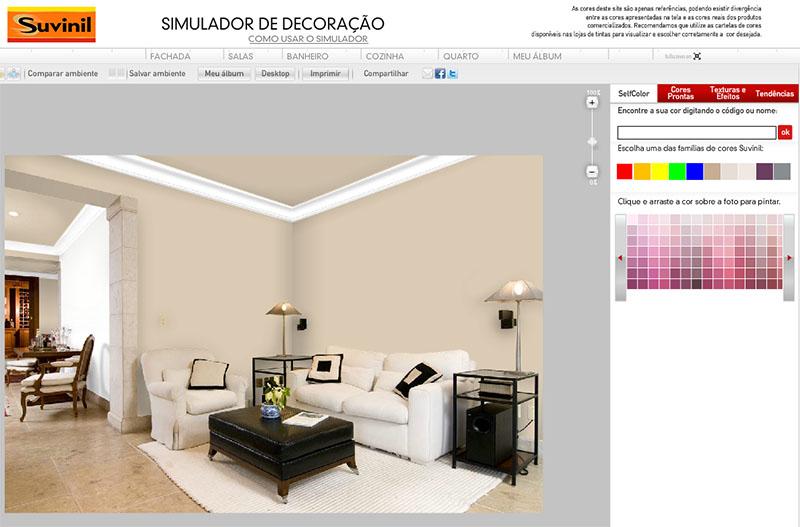 simulador de cores suvinil