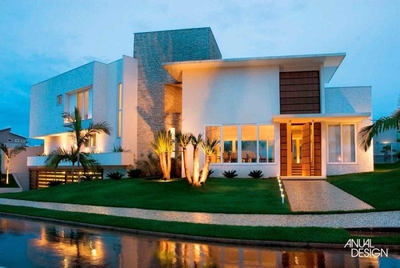 Iluminação de valorização de fachada