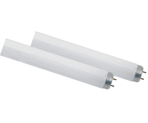 Lâmpadas fluorescentes tubulares, com soquete tipo pino