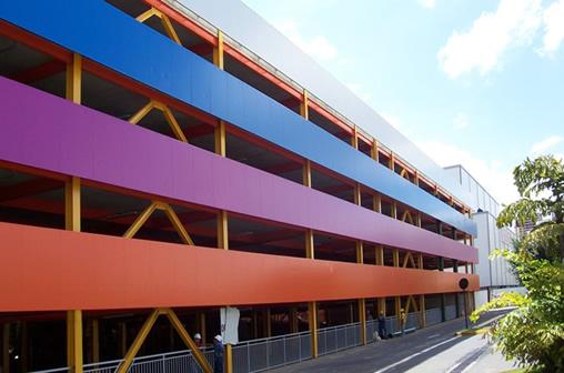painel wall fachada