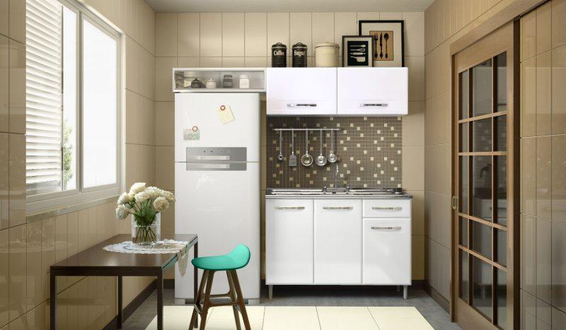 cozinha pratica e pequena