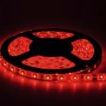 Fita de LED Vermelha, Possui mais uso decoratico