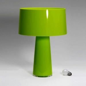 luminárias de mesa verde