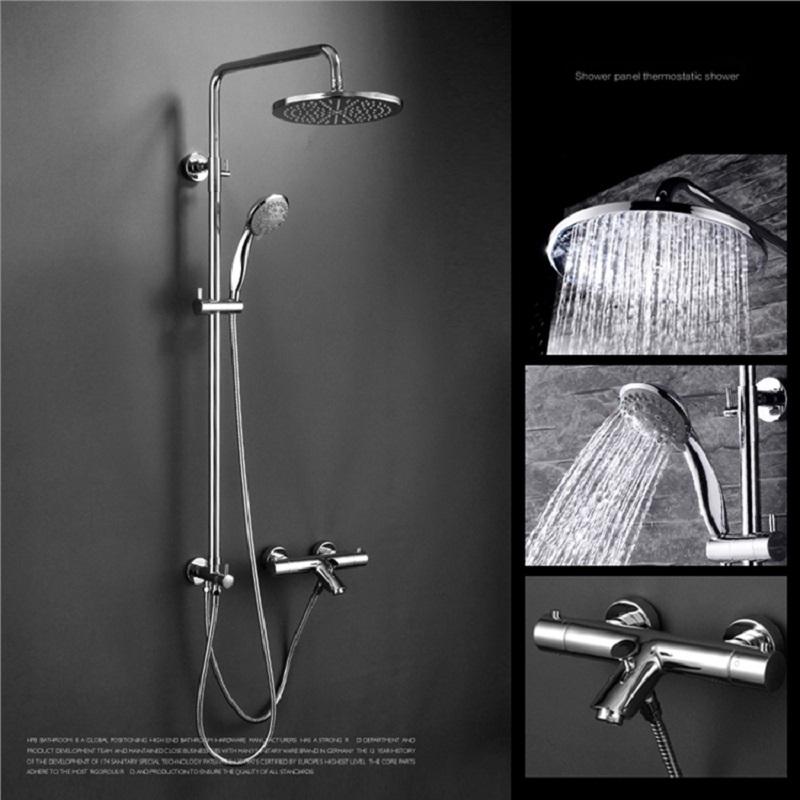 Modelo de misturador para chuveiro termostático com mangueira