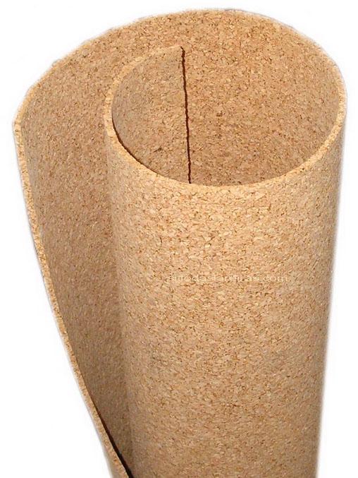 Manta de cortiça para isolamento térmico de pisos e forros