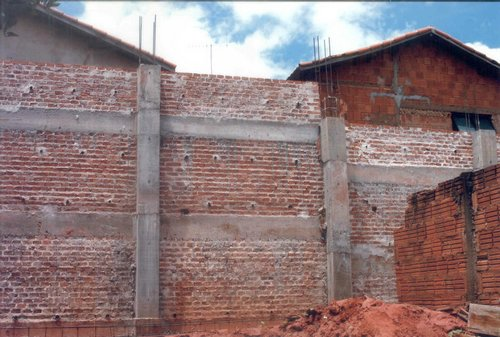 Projeto de muro de arrimo tipos c lculo e custos for Muro de concreto armado