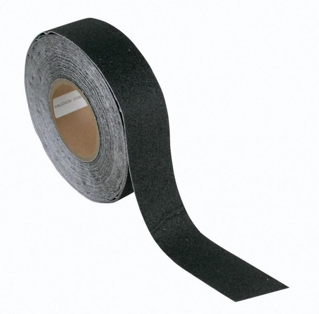 rolo de fita antiderrapante preta, o modelo mais em conta de adesivo