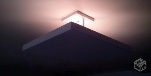 bandeja para iluminação indireta