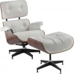 Outro modelo popular é a Charles Eames branca.