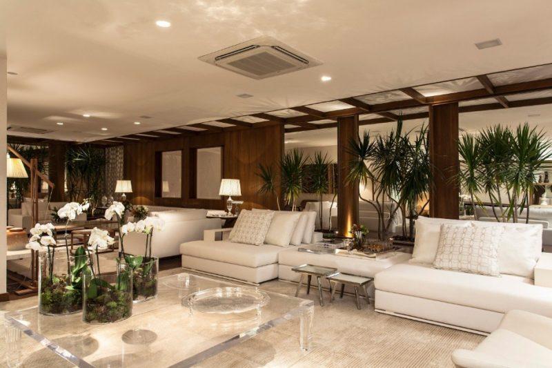 Outra planta que é ótima na decoração são as orquídeas - além de bonitas e perfumadas, suas flores duram muito tempo dentro de casa