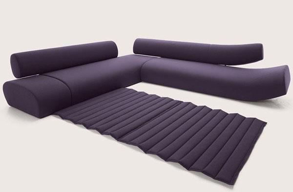 Sofás modernos com encosto tubular com opção de 2 e 3 assentos