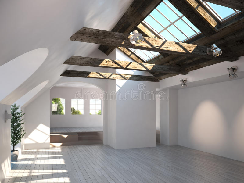 as claraboias podem ser usadas para a iluminação de diversos ambientes