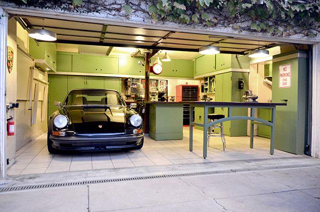 Piso cerâmico no revestimento de garagem