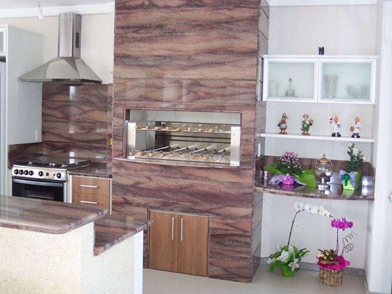 revestimentos para churrasqueira madeira