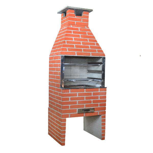 Como montar uma churrasqueira de tijolos