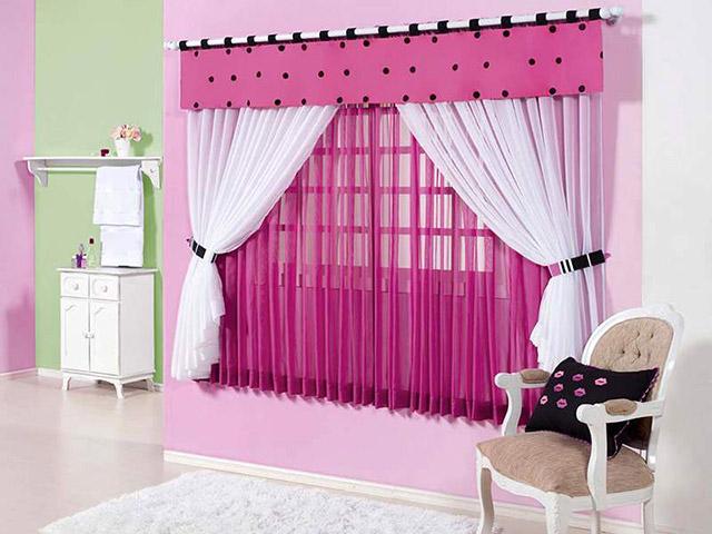 tecidos para cortina bordado