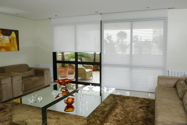 cortina silhouette sala