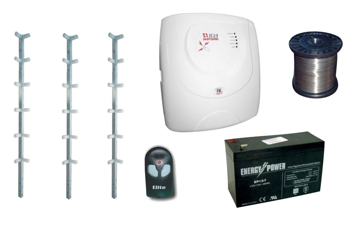 Equipamentos necessários para a instalação de um sistema de cerca eletrificada
