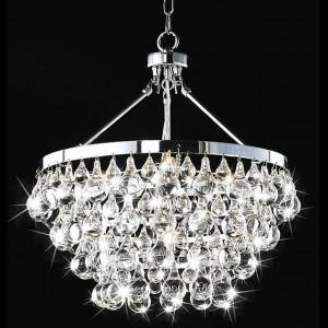 Lustres de cristal na decoração