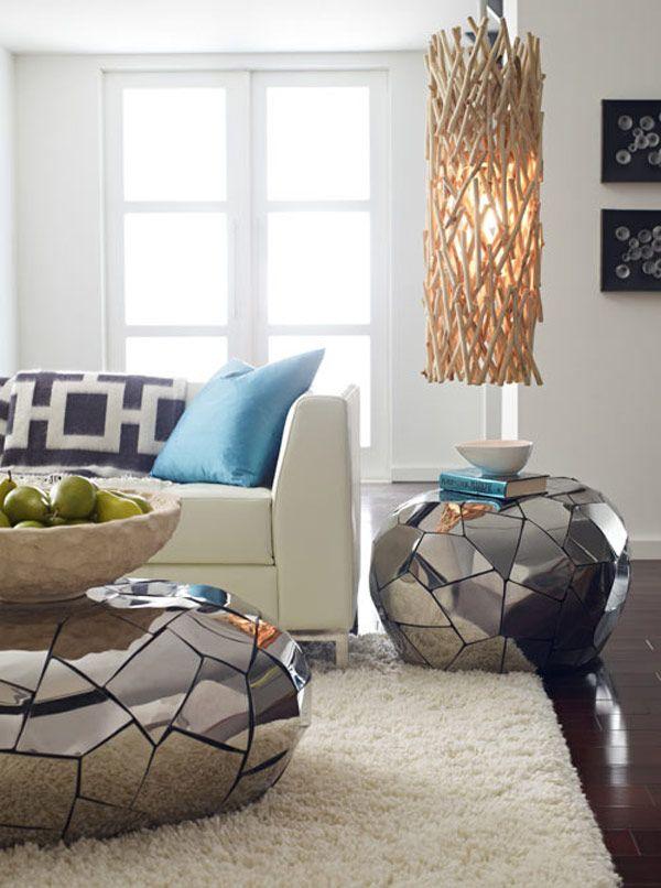 mosaico espelhado móveis