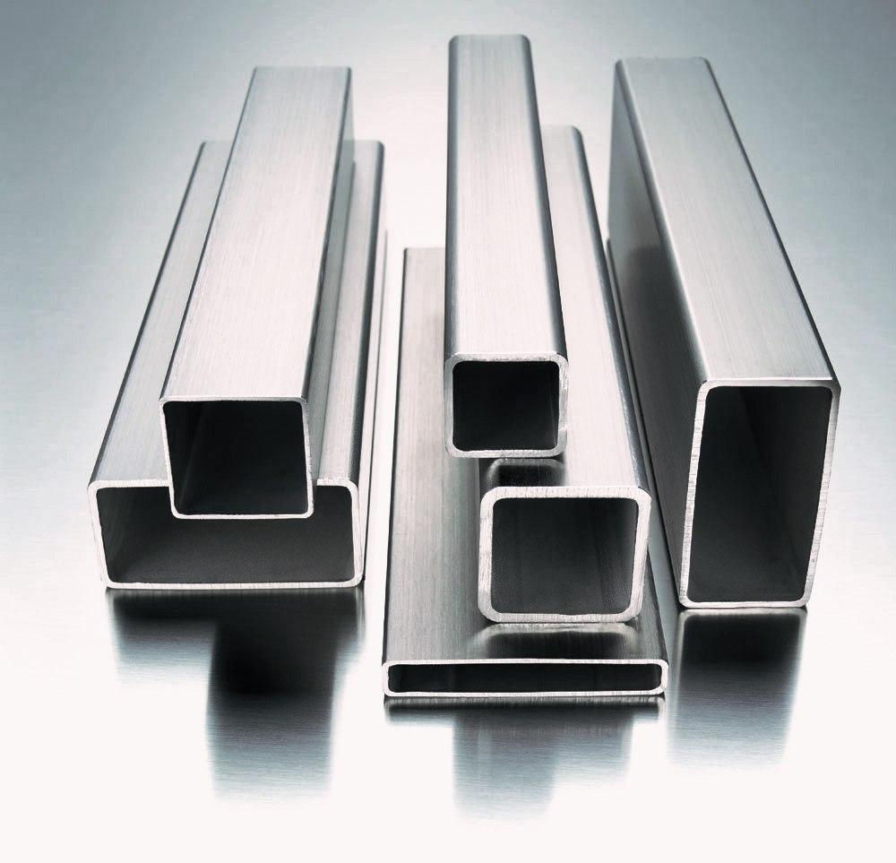 Perfis quadrados e retangulares de metalon
