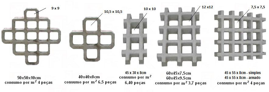 Piso de concreto grama